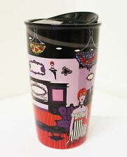 Anna Sui + Starbucks Boutique Double Wall Traveler 12 fl oz,  Ceramic Tumbler