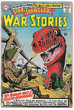 Star Spangled War Stories #124 (1966 fn- 5.5, Joe Kubert art) Guide $35.00 (£29)
