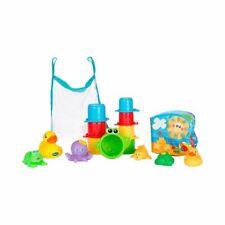 Rotho Babydesign Playgro Badespielzeug Geschenkset (16-tlg.) ab 6 Monate - bunt