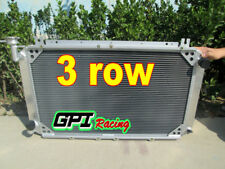 3 core aluminum radiator for Patrol GQ 2.8 / 4.2 DIESEL TD42 & 3.0 PETROL Y60 MT