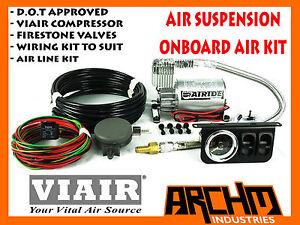 2WAY ELECTRO VALVE ONBOARD CONTROL SYSTEM AIR SUSPENSION VIAIR 12V COMPRESSOR