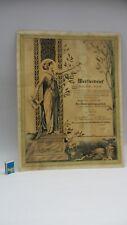 Meisterbrief Urkunde Diplom antik Damenscheiderinnen Kaufbeuren Bayern 1922