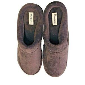 Dear foam Memory Foam Men's M (9-10) Slippers Brown Breathable Materials NEW