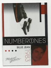 2011 Panini Michael Jackson King Of Pop Number Ones Platinum Parallel #181