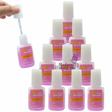10 PCS 10g BYB NAIL GLUE & BRUSH NAIL ART TOOL for False TIPS Decoration Set