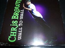 Chris Brown Wall To Wall Rare Australian 4 Track Enhanced CD Single