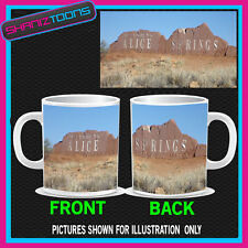 AUSTRALIA ALICE SPRING SIGN  PICTURE MUG