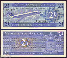 ANTILLAS HOLANDESAS NETHERLANDS ANTILLES 2,5 1/2 gulden 1970 Pick 21  SC / UNC