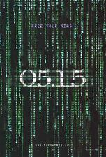 The Matrix Reloaded (2003) Film Poster, Original, Ss, Unbenutzt, wie Neu, Rolled