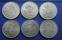 George VI Two Shillings/Florin - 1937 to 1951 choose your date GVF to Extra Fine