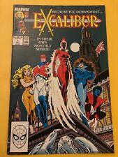 EXCALIBUR  (1988 Series)  (MARVEL) #1 Comics Book High Grade