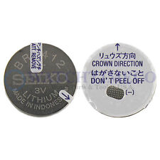Genuine Seiko BR2412 CR2412 Lithium Battery f/ Perpetual 8F32 8F33 8F35 8F56