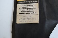 7700760791 Original Renault Abdeckung R5