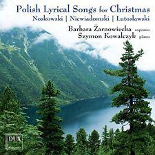 Noskowski / Lutoslaw - Polish Lyrical Songs for Christmas [New CD]