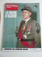 HISTORIA mag LA GUERRE D'ALGERIE n° 221 TALLANDIER. Mort du maire de BOUFARIK