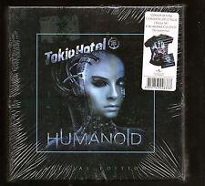 TOKIO HOTEL HUMANOID Special Edition Camiseta Chica Talla M Girl T-shirt