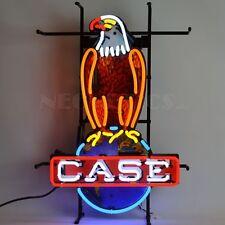 "Neonetics 5CASEE Case Eagle International Harvester Neon Sign 18"" x 26"""