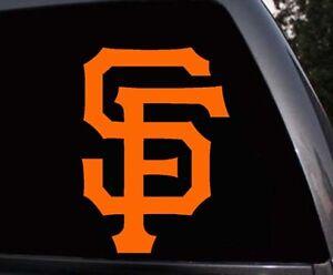 San Francisco Giants SF Giants Car Window Laptop Skin Vinyl Decal Sticker
