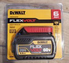 DeWalt DCB606 20V/60V MAX FLEXVOLT Brand new and sealed in retail packaging 6ah