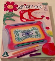 SPIRAL ART SET Includes Outer frame,Inner frame templates / 6 cogs Art Activity