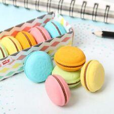 Correction Supplies Stationery Supplies Kawaii Writing Supplies Rubber Macaron