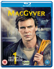 MacGyver: Season 1 Blu-Ray (2018) Richard Dean Anderson cert 12 5 discs