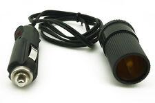 12V 2M Car Truck Cigarette Lighter Extension Cable Socket Plug Power Lead Cord