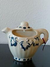 Vintage Teapot Ceramic Wall Pocket Planter