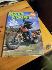 motorcycling monthly/H-D Gagiva 350 Test/Suzuki GS425 Test/Ducati Service/