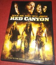 RED CANYON Super Rare 2009 RETAIL DVD Norman Reedus HORROR The Walking Dead TWD