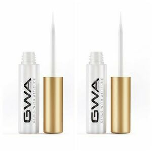 GWA Lash Adhesive  Brush On Latex Free Clear Drying Lash Glue x 2
