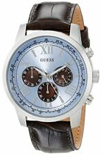 GUESS Men's U0380G6 Dressy Stainless Steel Multi-Function Watch with Chronograph