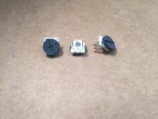 (10 pcs) 3352T-1-105 Bourns, 1Meg ohm 0.5 Watt, Thumbwheel Potentiometer
