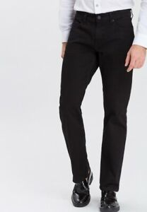 "CROSS DENIM JEANS "" Antonio "" HERREN Straight Relaxed fit Farbe: 028 Black"