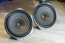 Pair TESLA ARN 730 15ohm bass vintage SPEAKERS 27cm AlNiCo for KLANGFILM project
