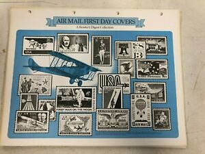 Reader's Digest Airmail First Day Covers 1949 - 1979 9 total