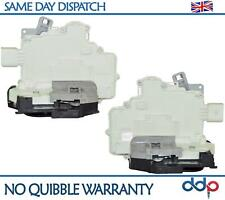 For VW Passat 3C2 3C5 Tiguan, Audi Q7 1.6 2.0 TDi Rear Door Lock Actuator PAIR