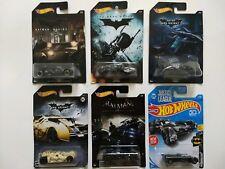 DC Batman Hot Wheels diecast vehicles (NEW) set of 6