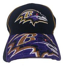 Baltimore Ravens Hat Black Purple Gold NFL New Era 39Thirty Small Medium NFL