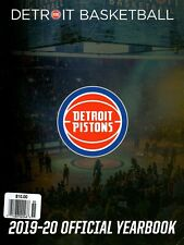 Yearbook 2019-2020 - NBA - Basketball - DETROIT PISTONS