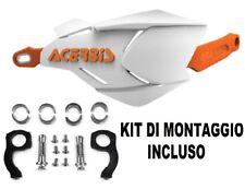 ACERBIS PARAMANI X-FACTORY CHIUSI STECCA METALLO KIT MONTAGGIO BIANCO ARANCIONE