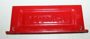 Original 1970s 1980s Vintage Tonka Toys Dodge Pick Up Truck RED TAIL GATE PART
