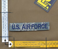 """Ricamata / Embroidered Patch """"U.S. AIR FORCE"""" ABU Stripe with VELCRO® brand hook"""