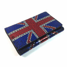 IRON FIST Ladies Union Jack Red White & Blue Sequin Purse/Wallet