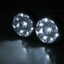 2 x 27W 9LED Work Light Round Spot Beam Off-road Driving Fog Lamp Truck ATV SUV