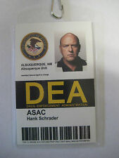 Breaking Bad - ASAC Hack Schrader D.E.A. Prop  I.D. Badge - B3G1F