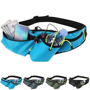 Waterproof Bottle Holder Waist Pack Fanny Bag Sports Running Jogging Belt
