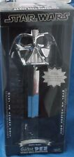 Star Wars Limited Edition Darth Vader Giant Pez Candy Roll Dispenser Chrome MIP