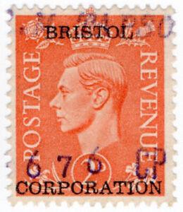 (I.B) George VI Commercial Overprint : Bristol Corporation