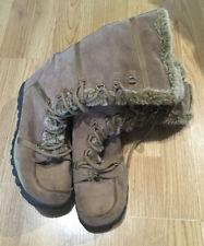 Ladies Skechers Grand Jams Unlimited Mid-calf Light Brown/Tan  Winter Boots  UK7